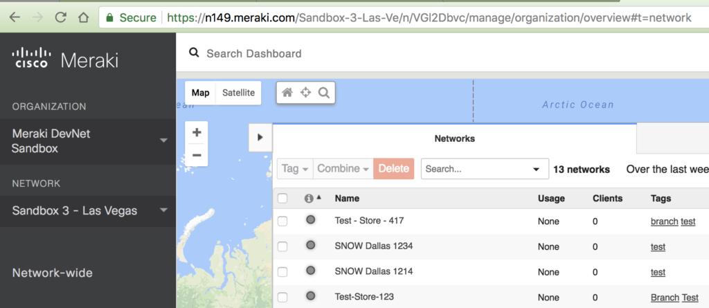 Meraki Dashboard API