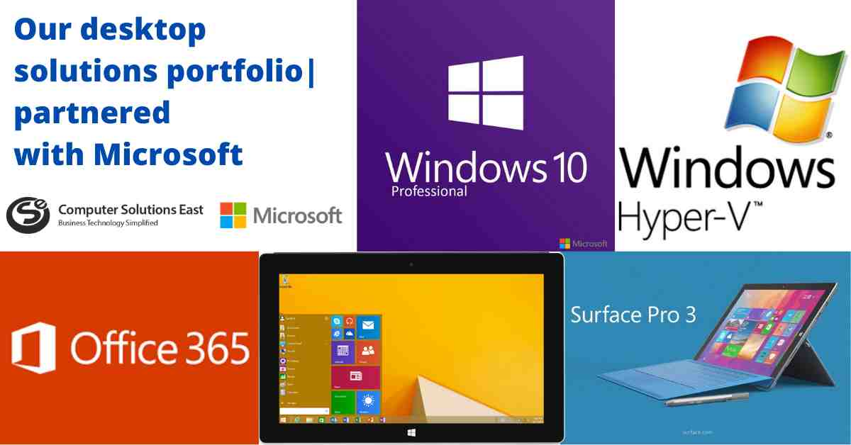Our Modern Desktop Solutions Portfolio, Partnered with Microsoft