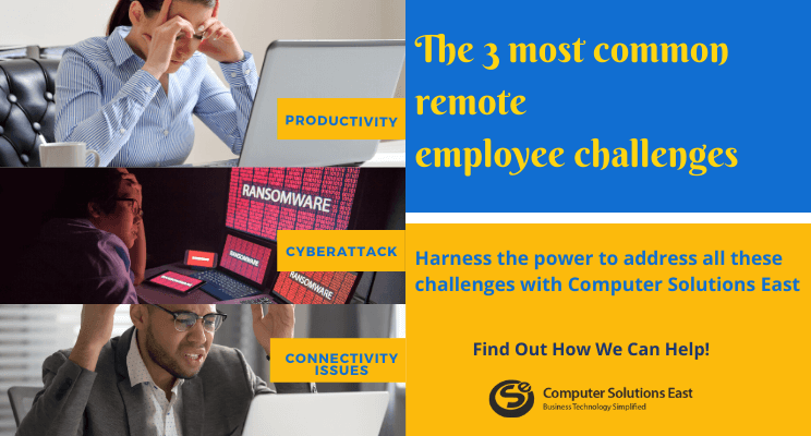 How to Solve the 3 most Common Remote Employee Challenges