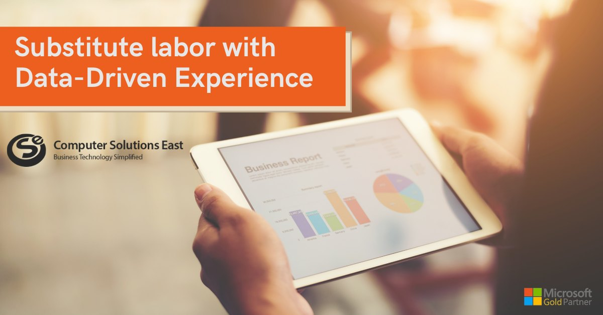 Going Beyond Labor Substitution to Data-Driven Experiences