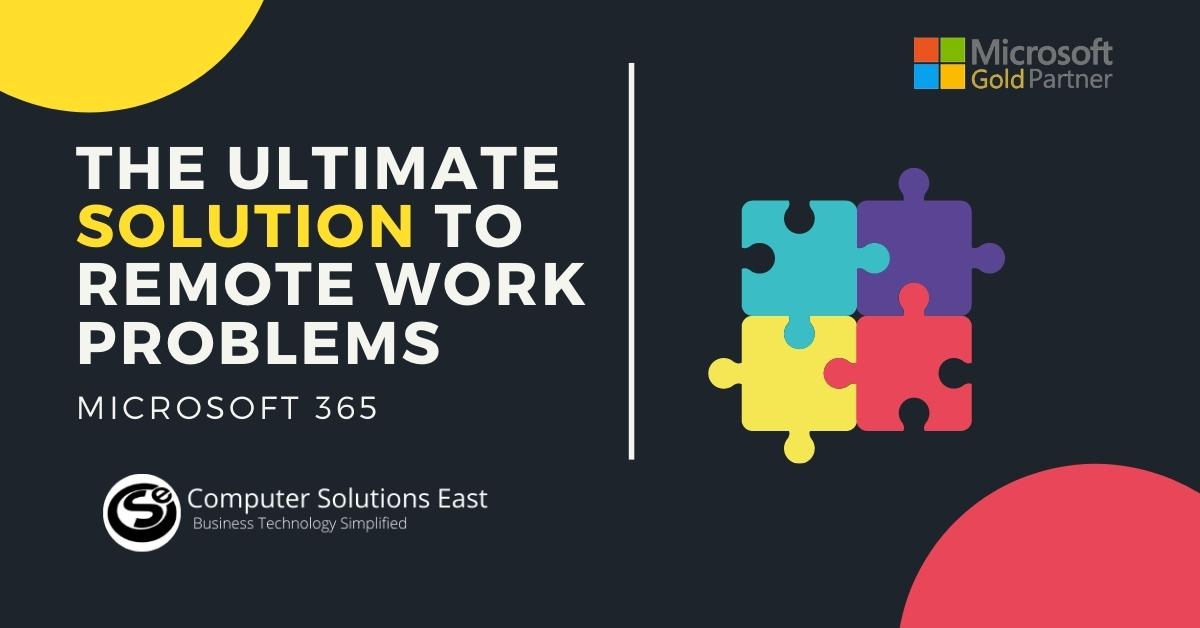 Eliminating remote work bottlenecks with Microsoft 365
