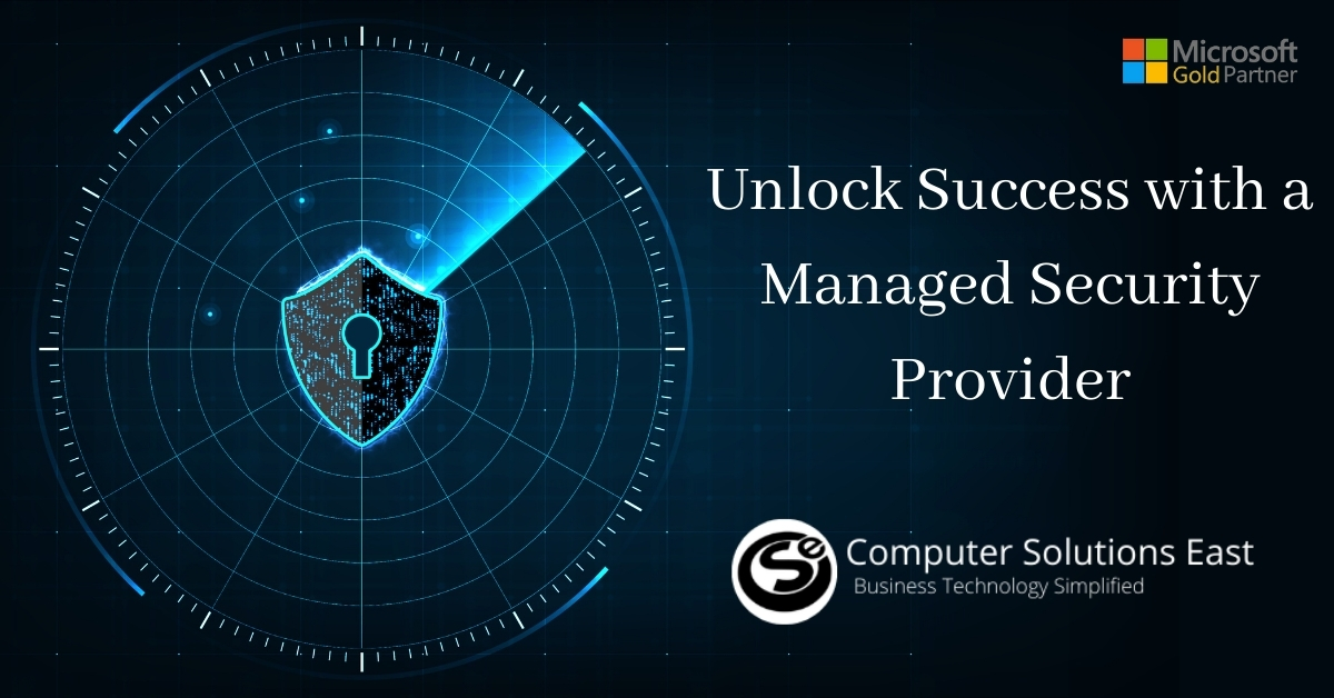 Why working with a managedsecurity provider is goodforbusiness?