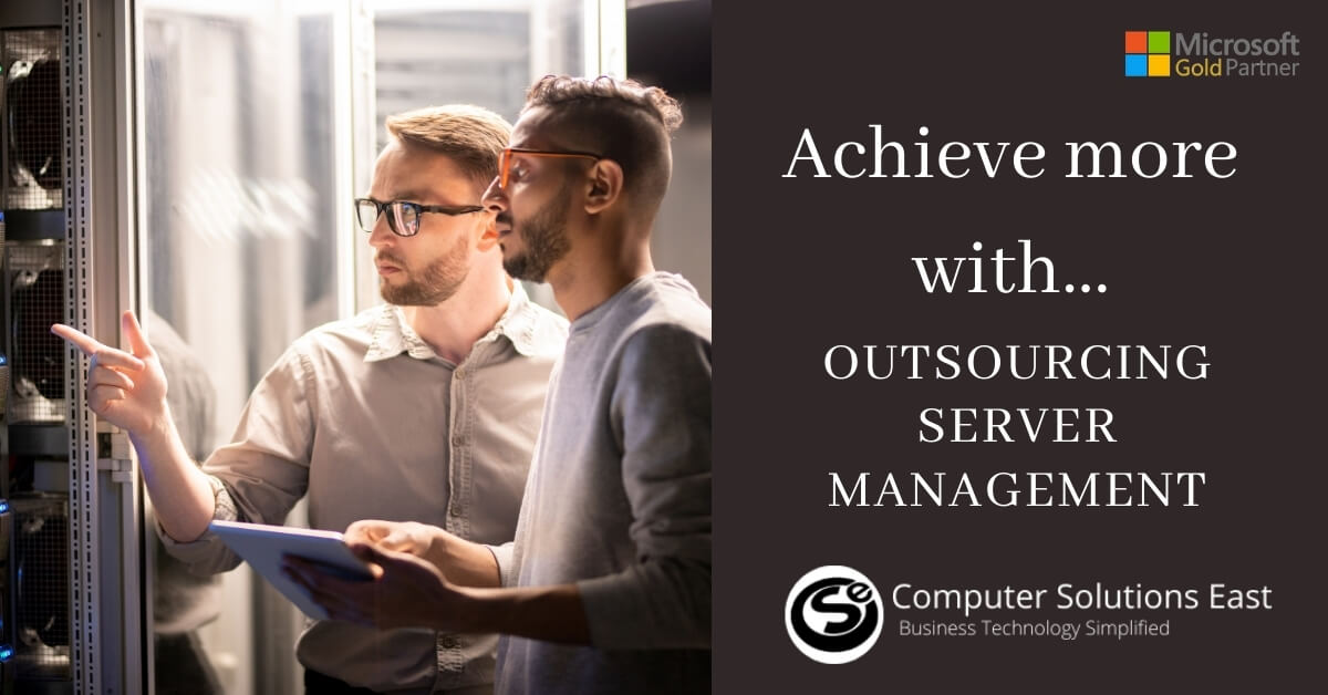 How outsourcing server management can help you achieve more with less