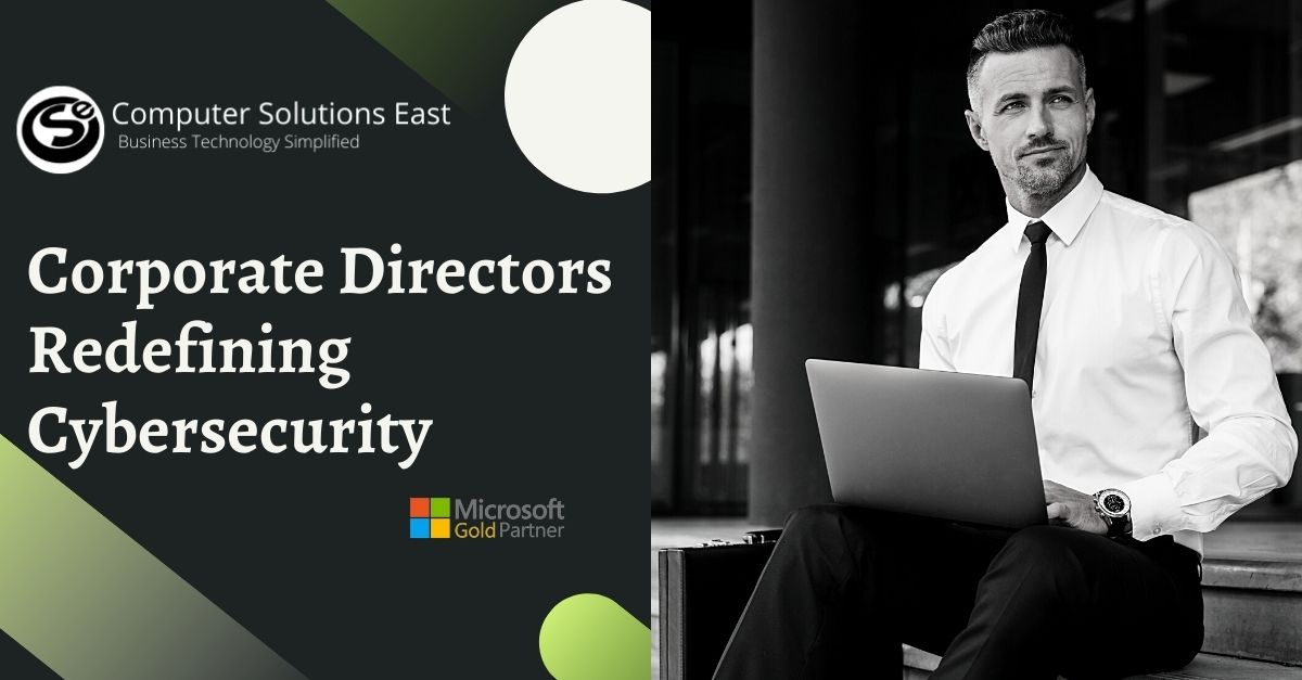 How can corporate directors redefine the managed cybersecurity services?