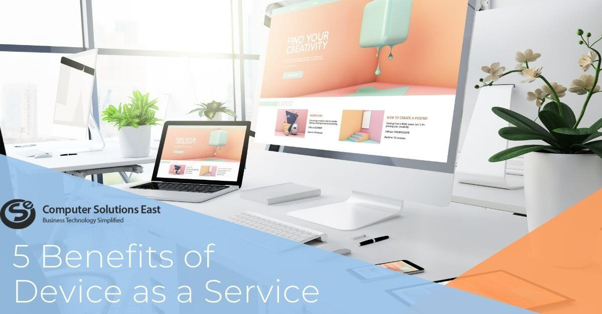 Five Techniques to Leverage Device as a Service for Enterprise