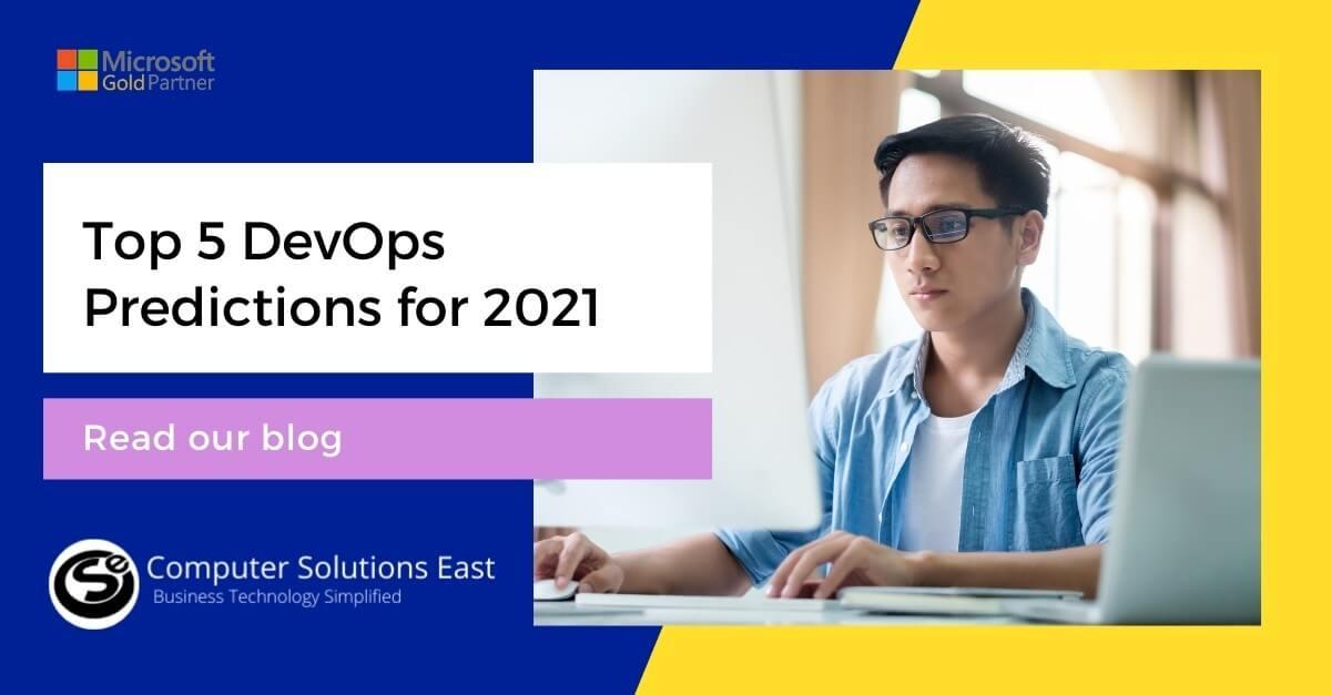 Top 5 DevOps Predictions for 2021
