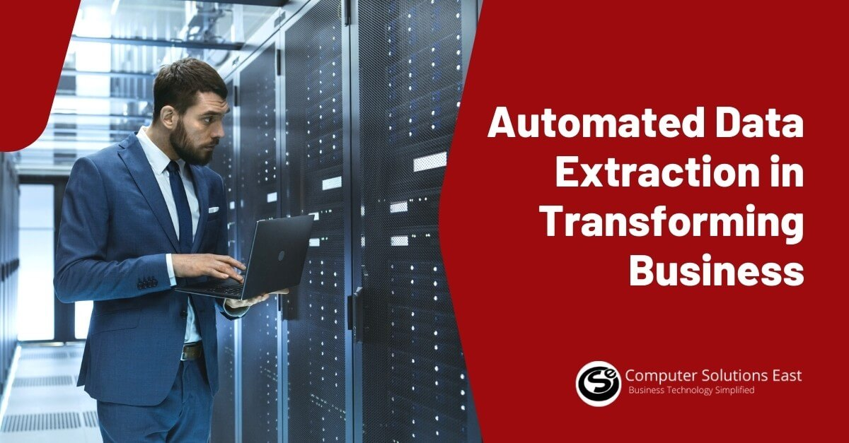 Automated Data Extraction and its Role in Transforming Business