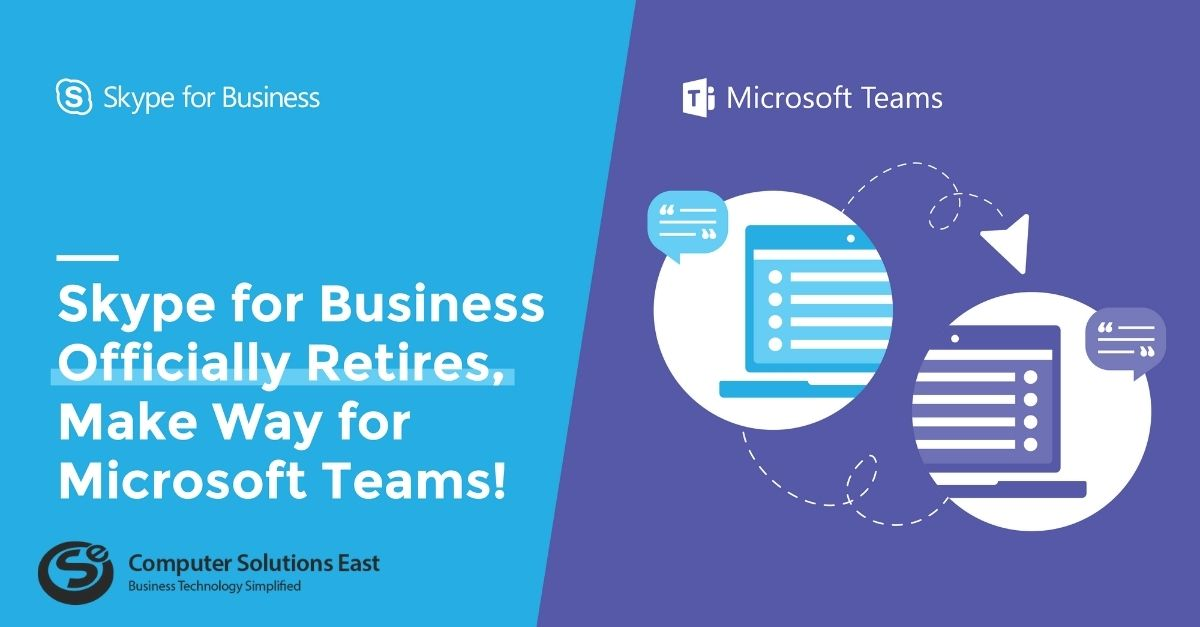 Microsoft Skype for Business End of Life Announcement
