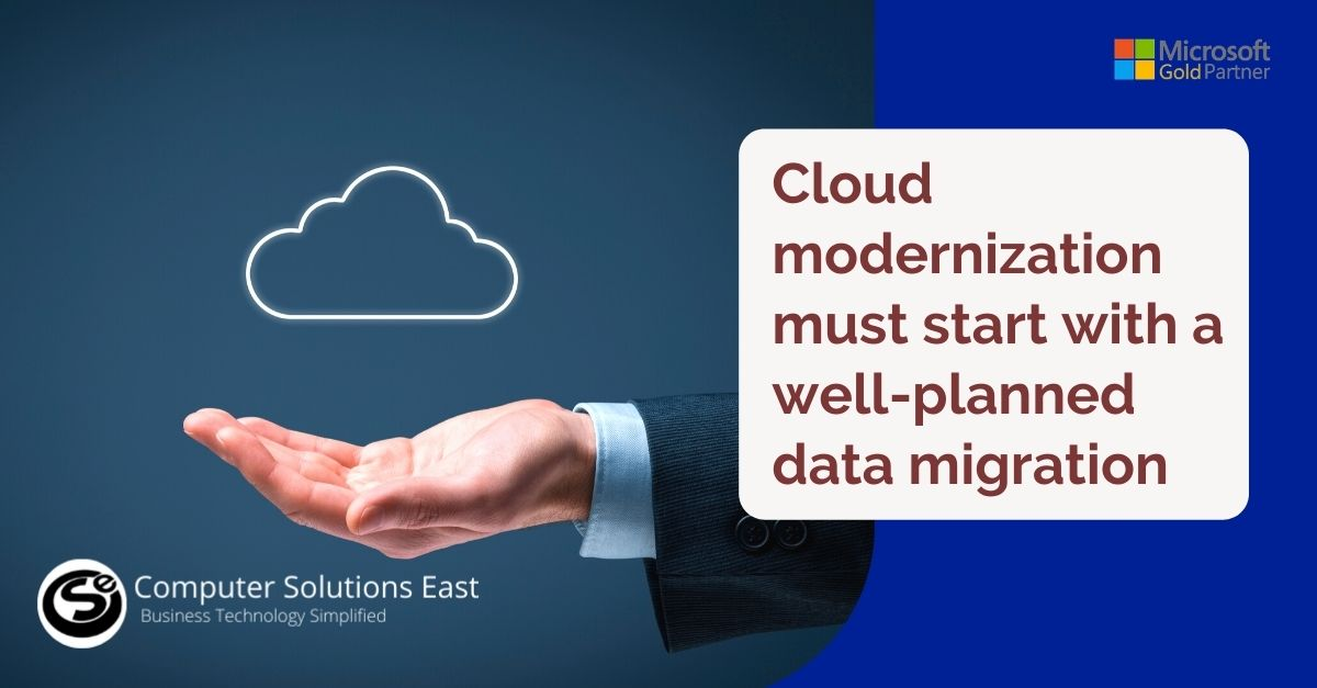 Why every cloud modernization must start with a well-planned data migration
