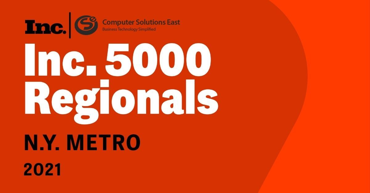 CSE enters the list of Inc. 5000 fastest growing private companies in NY Metro area.