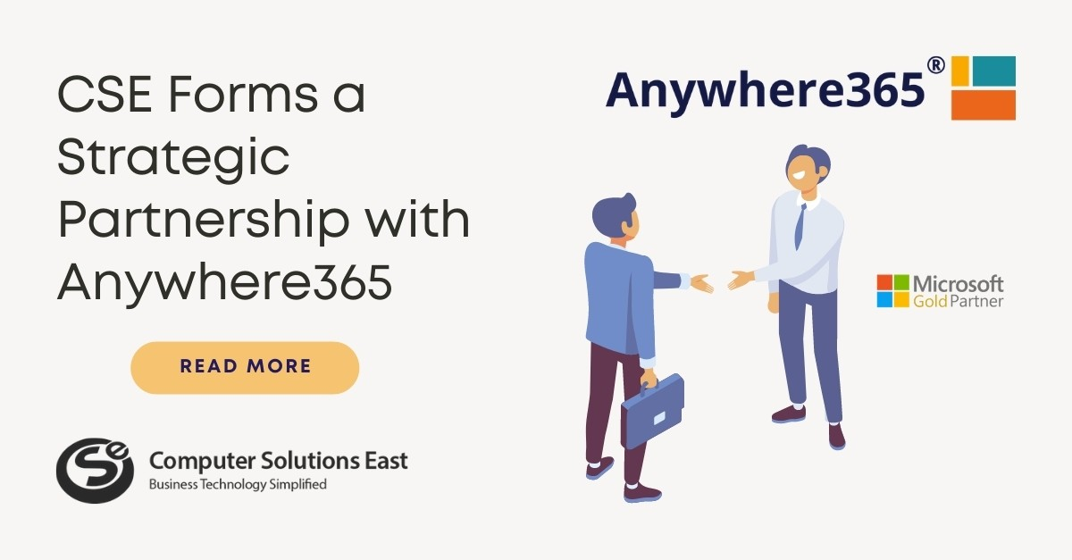 CSE Forms a Strategic Partnership with Anywhere365® to Bring Contact Center Functionality to Microsoft Teams Business Voice