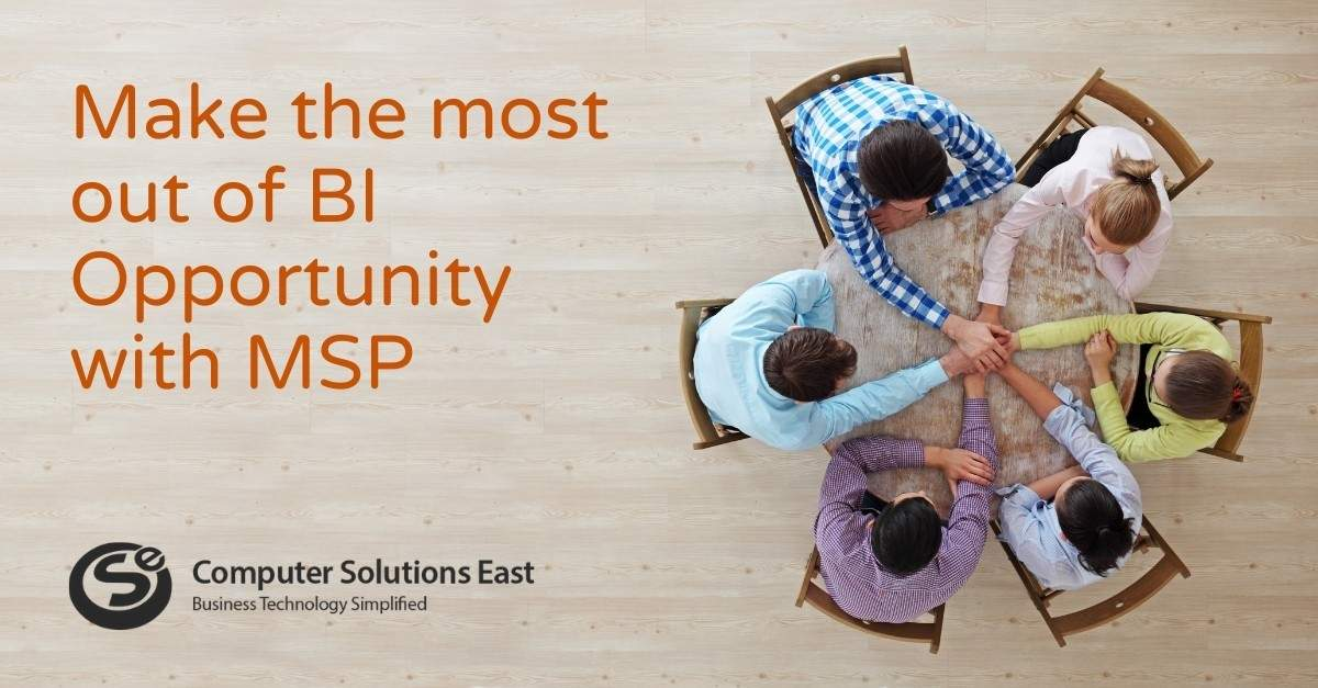 Make the most out of BI Opportunity with MSP