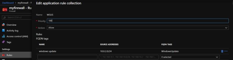 My Firewall - CSE