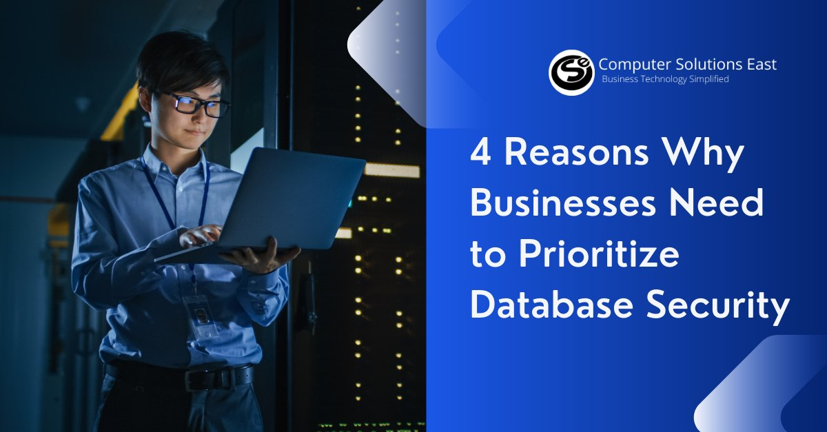 4 Reasons Why Businesses Need to Prioritize Database Security
